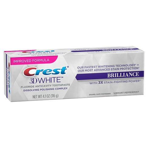 bělící zubní pasta Crest 3D White Brilliance