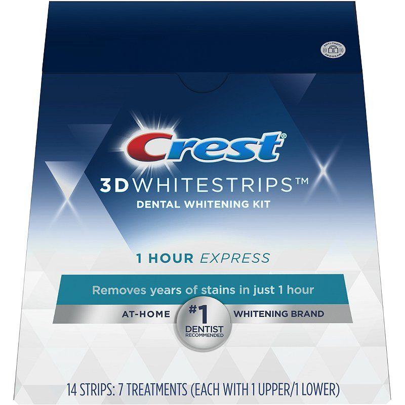 Hodinové bělicí pásky Crest 1-hour EXPRESS