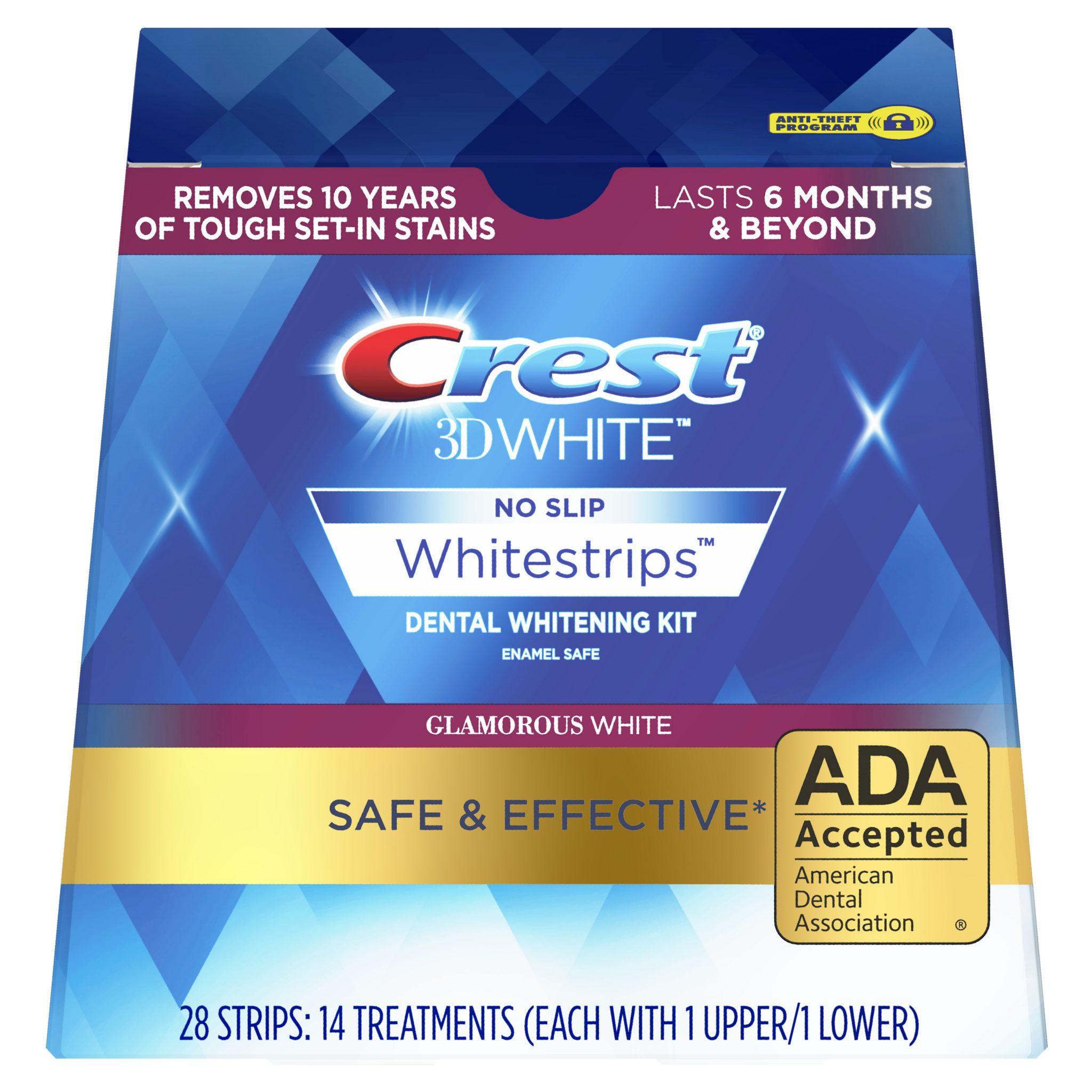 bělíci pásky Crest Glamorous White