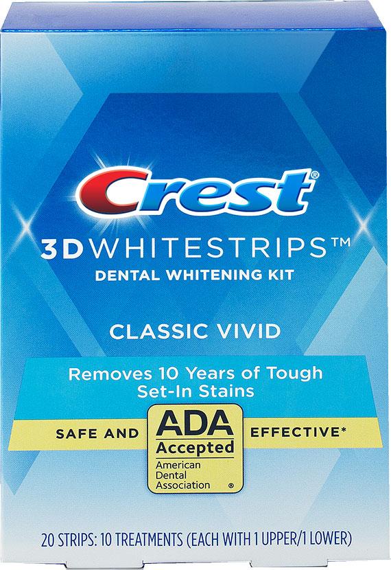 Bělicí pásky Crest 3D White Vivid