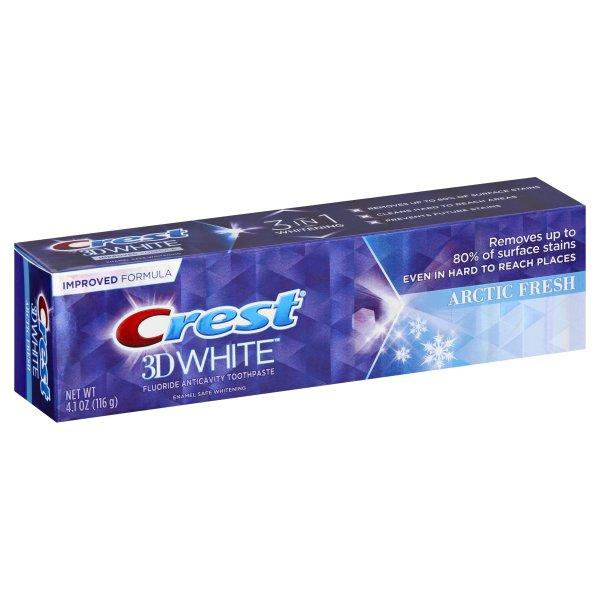 Bělicí zubní pasta 3D ARCTIC FRESH