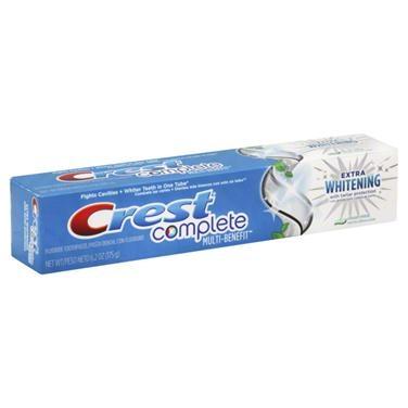 Bělicí zubní pasta Crest COMPLETE Extra-Whitening bielenie zubov