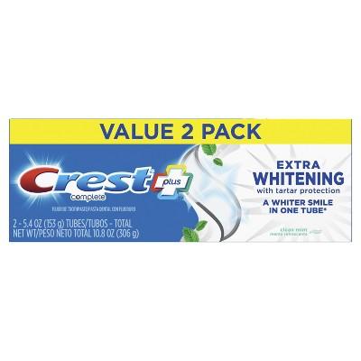 Dvojbalení Crest COMPLETE Extra-Whitening