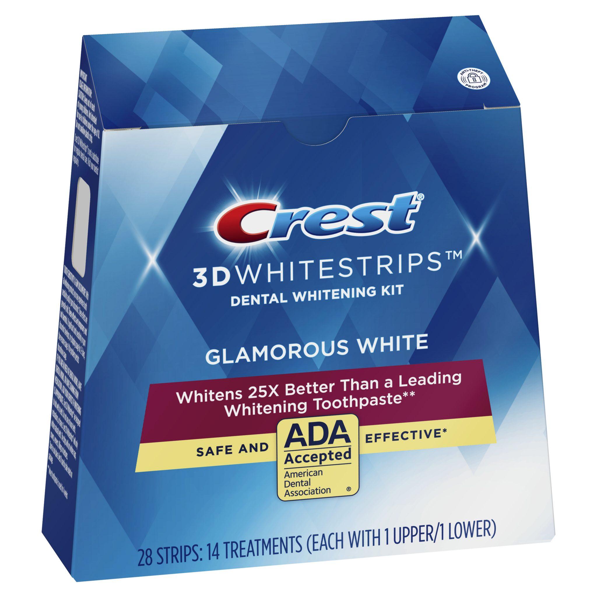 Bělicí pásky Crest 3D Glamorous White