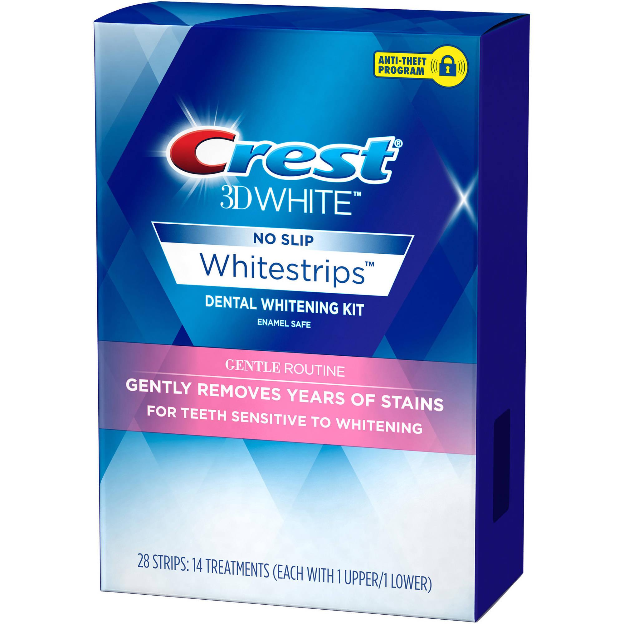 pásky na citlivé zuby Crest Gentle routine