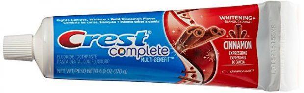 Zubní pasta Crest Cinnamon - škoricová