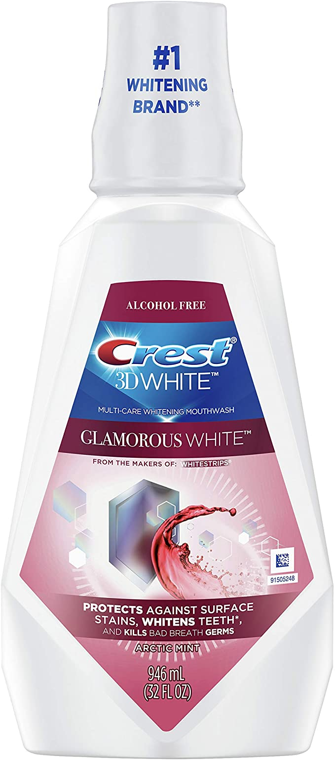 Ústní voda Crest 3D Glamorous White