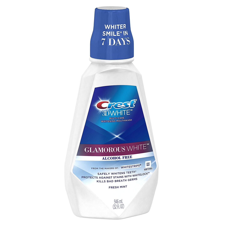 Ústní voda Crest Glamorous White