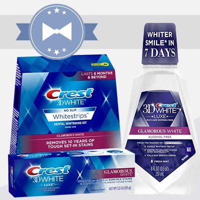 Výhodný balíček Crest 3D Glamorous White