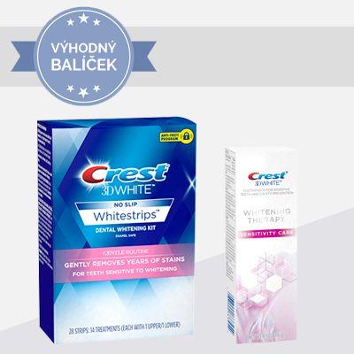 Výhodný balíček pro citlivé zuby Crest
