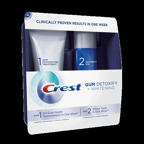 Bělicí gel na zuby Crest GUM DETOXIFY