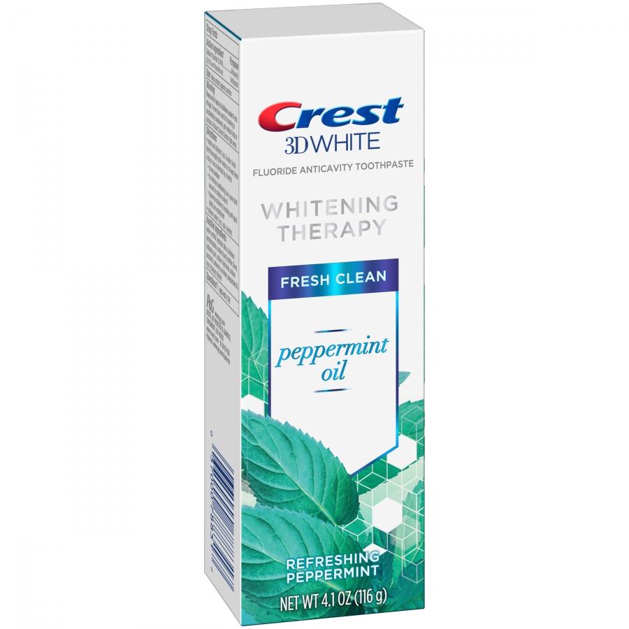 Bělicí zubní pasta Crest Whitening Therapy s peprmintovým olejem