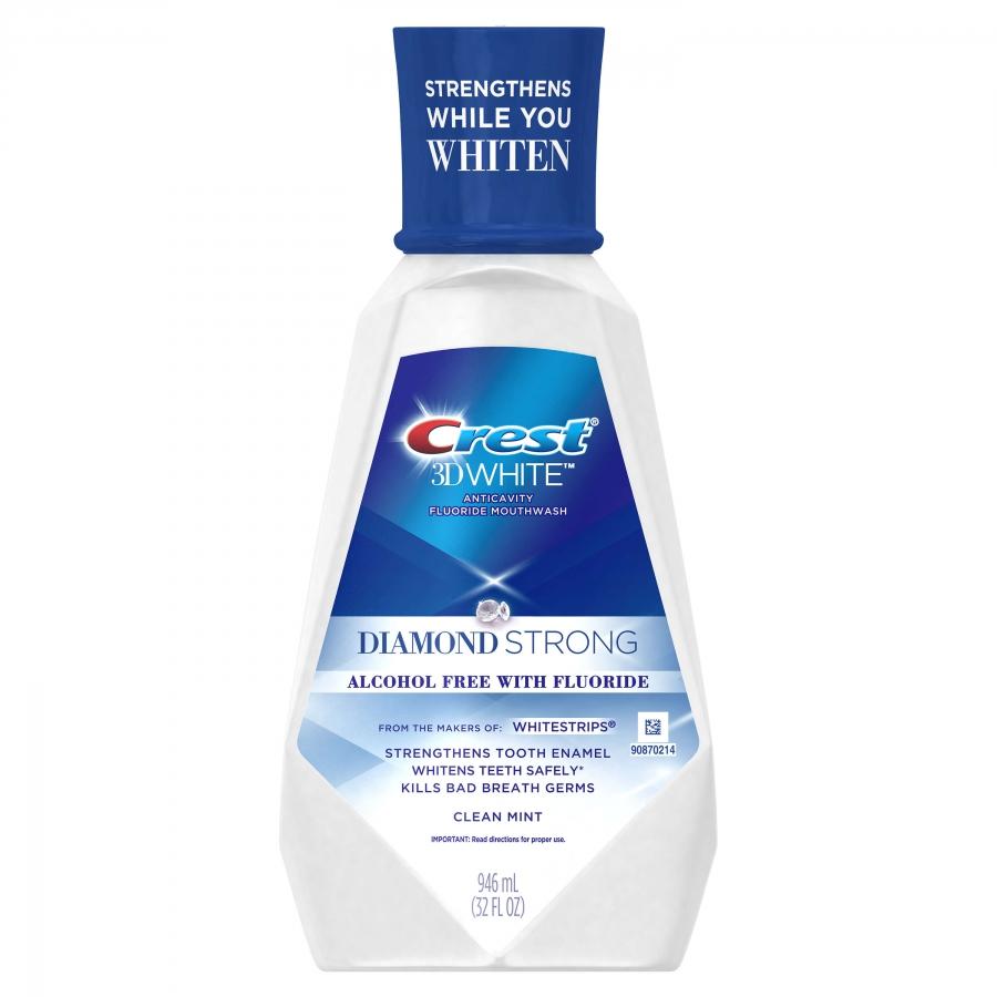 Bělicí ústní voda Crest 3D White DIAMOND STRONG