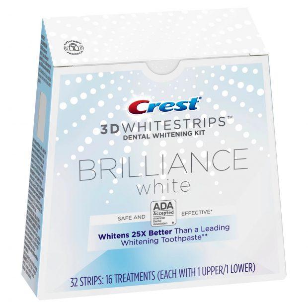 Bělicí pásky Crest Brilliance white