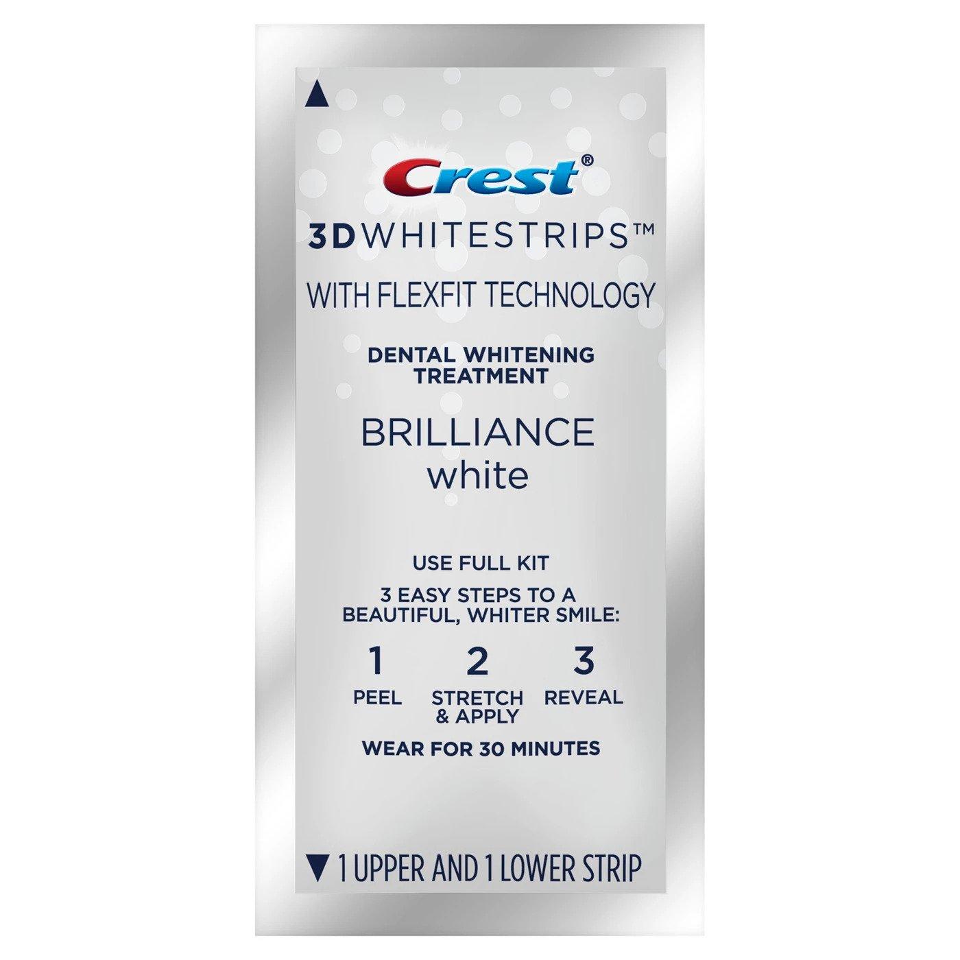 Bělicí pásky Crest Brilliance white pásek