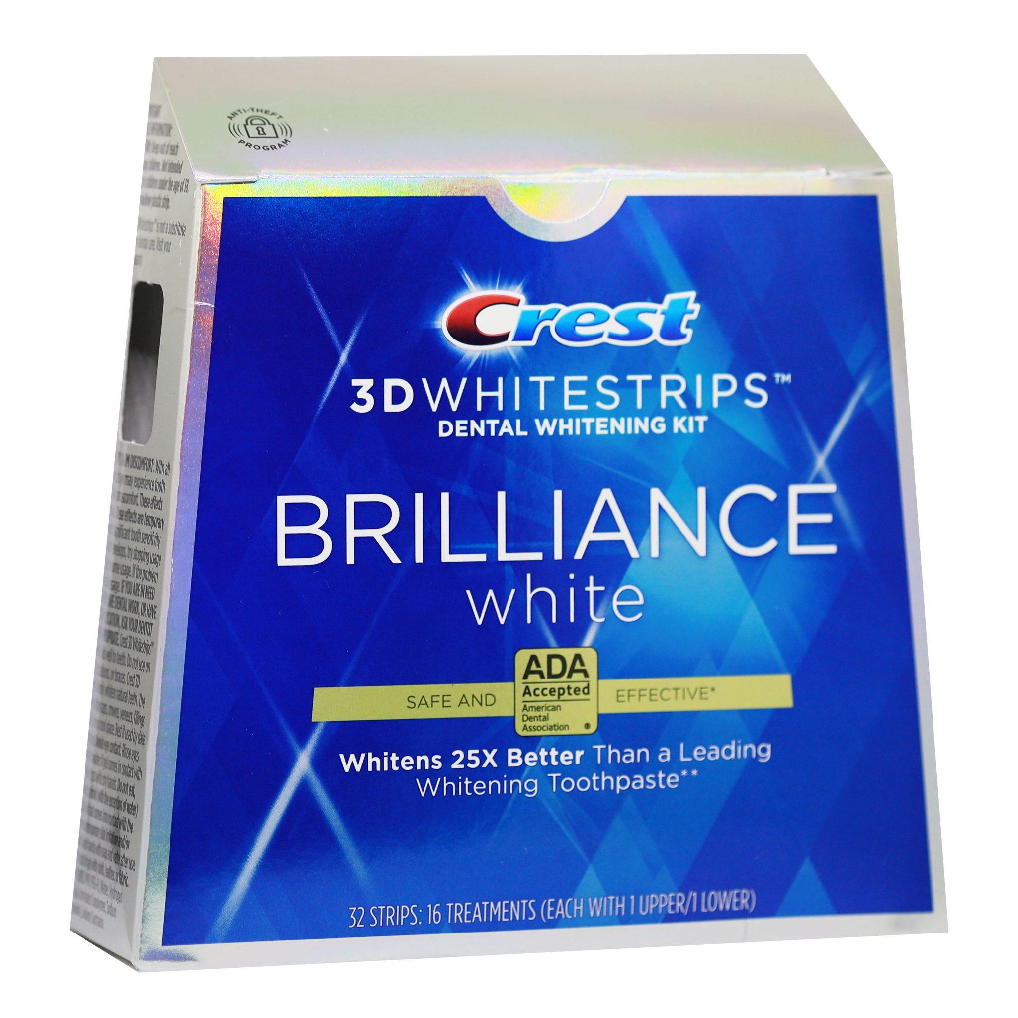 Bělicí pásky Crest 3D BRILLIANCE White