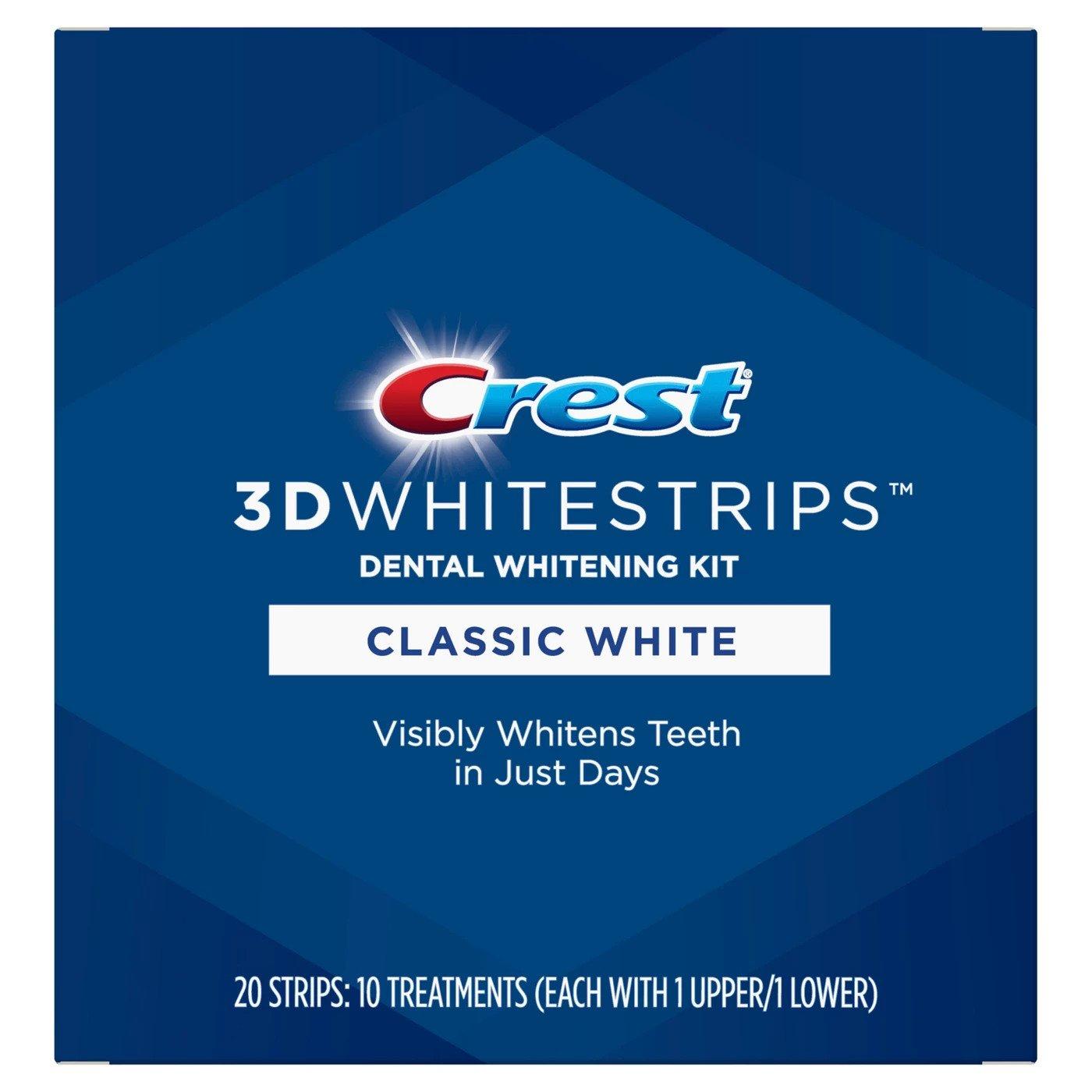 Bělicí pásky Crest Classic white