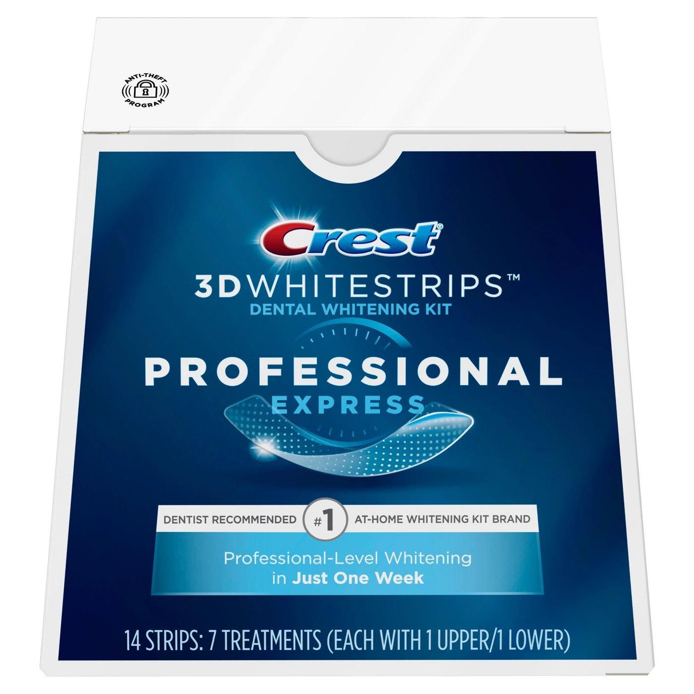 Bělicí pásky Crest Professional express
