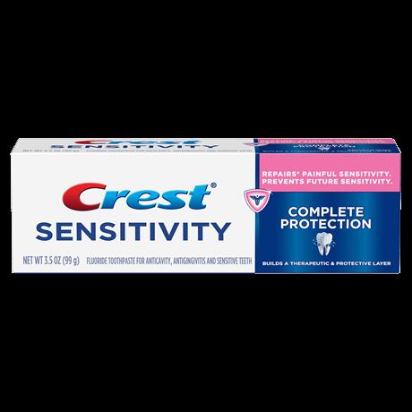 zubní pasta na citlivé zuby Crest Sensitivity Complete Protection