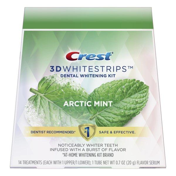 Bělicí pásky Crest 3D White ARCTIC MINT