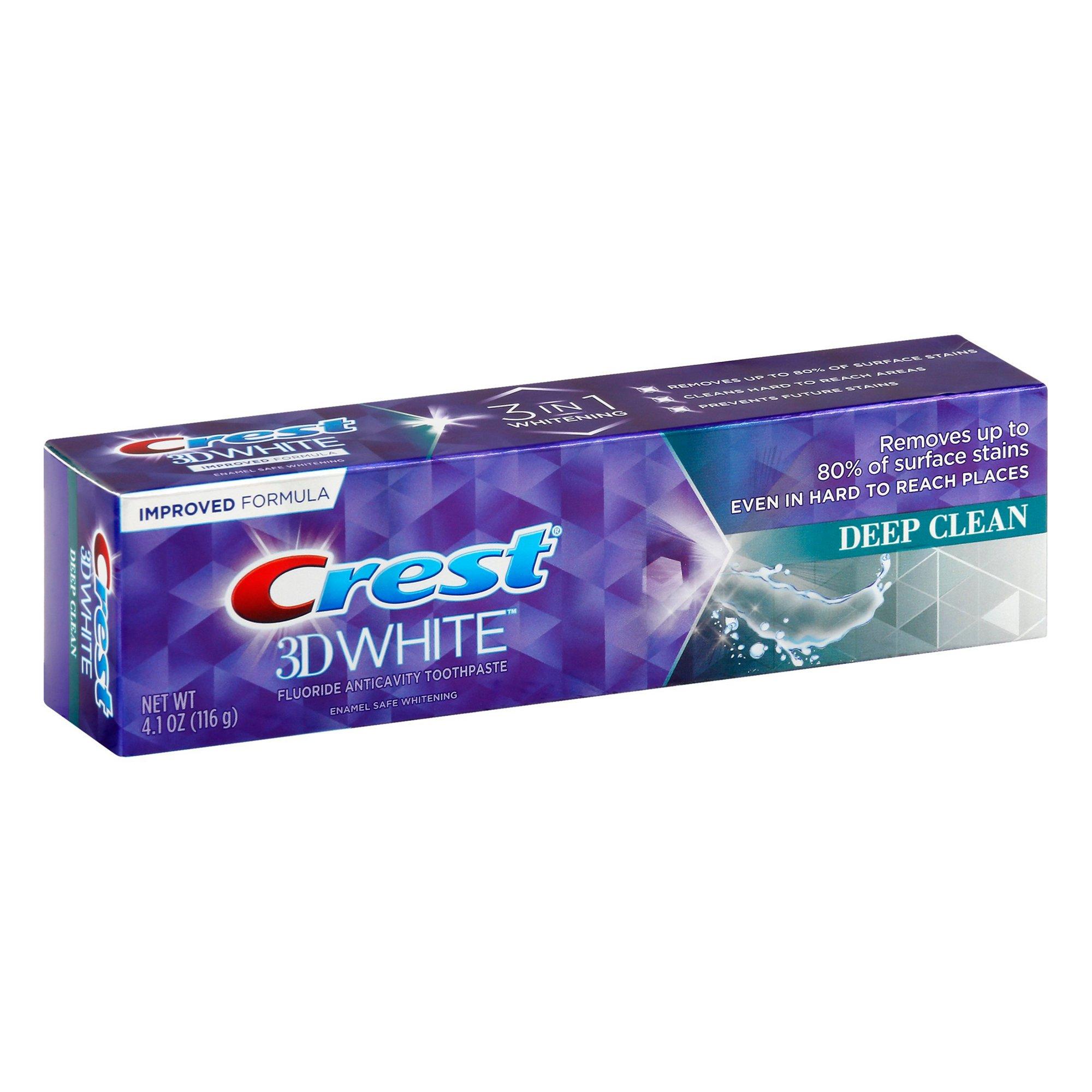 Bělicí zubní pasta Crest 3D WHITE Deep Clean